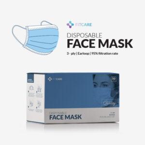 Masker surgical mask 3 ply