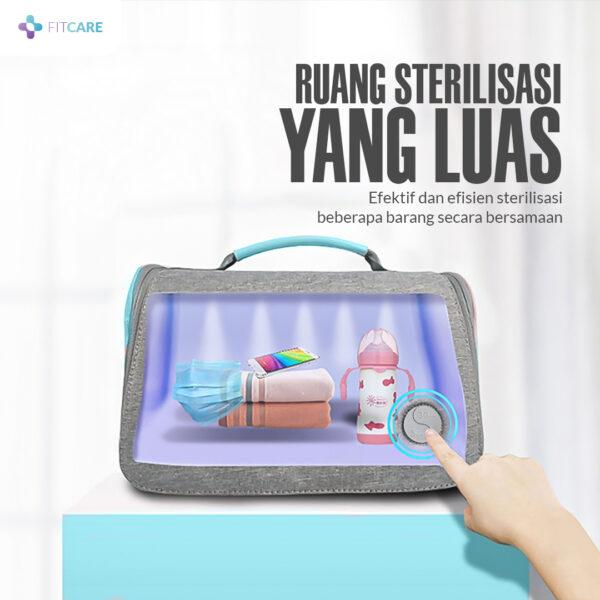 Ruang sterilisasi pada UV BAG Sterilizer