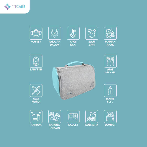 UV BAG Sterilizer untuk berbagai macam barang